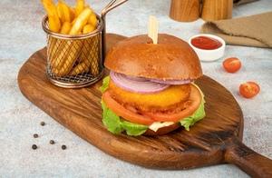 Drivu Chicken burger