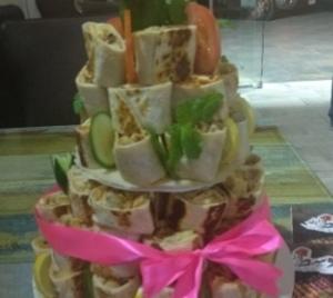 Drivu Shawarma Cake