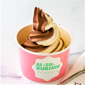 Drivu Mix Chocolate + Milk Ice Cream