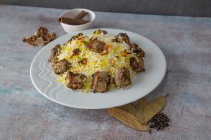 Drivu Tikka with Rice