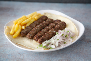 Drivu Mutton Kebab Sandwich