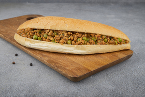 Drivu Kima Sandwich سندويش دقه لحم مفروم