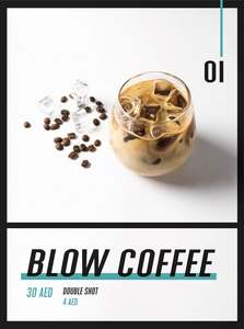 Drivu Iced Blow Latte