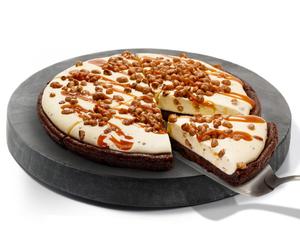 Drivu Ice Cream Pizza - Pralines 'n Cream (Full Pizza)