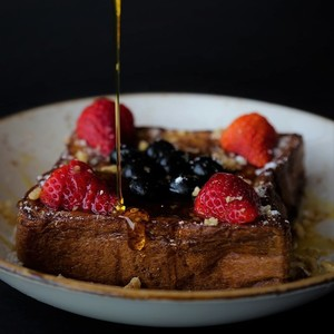 Drivu French Toast with Ice Cream