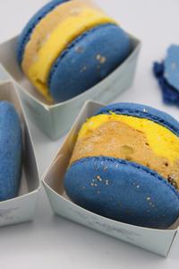 Drivu Saffron & Kulfi Macaron Ice Cream