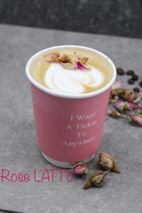 Drivu Rose Latte Hot