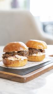 Drivu Pulled Beef Sliders