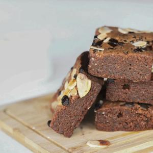 Drivu Almond Brownie (1 piece)