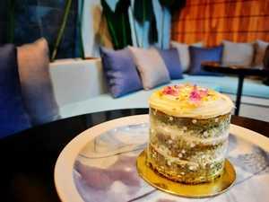 Drivu Pistachio Rose Cake