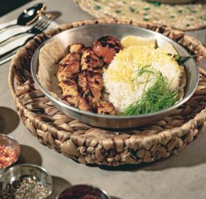 Drivu Zafron Chicken Kebab