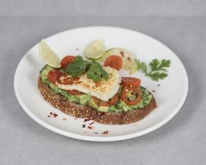 Drivu Halloumi & Avocado Brown Toast