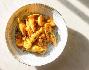 Drivu Prawn Pasta