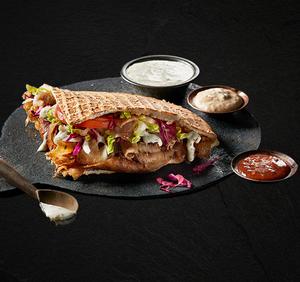 Drivu The Original German Doner Kebab Meal