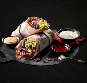 Drivu Doner Durum Wrap Meal
