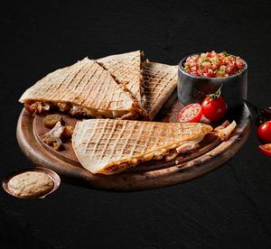 Drivu Doner Quesadilla Meal