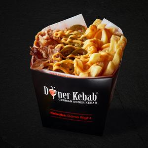 Drivu Doner Box Chips & Cheese