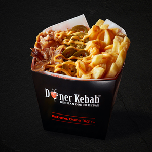 Drivu Doner Box Chips & Cheese + Drink