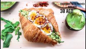 Drivu Avocado Croissant