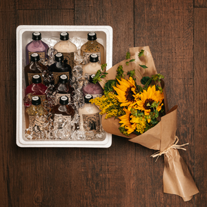 Drivu Nomad Box Large with Flowers (12 bottles)
