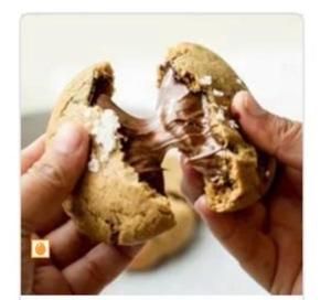 Drivu Nutella Sea Salt Cookie