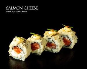Drivu Salmon Cheese Roll (8 pieces)