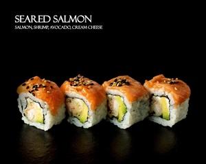 Drivu Seared Salmon Roll (8 pieces)