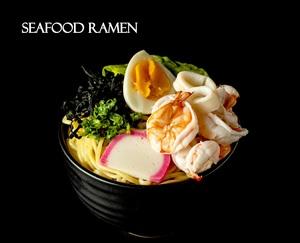 Drivu Seafood Ramen (tum yum)