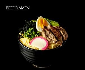 Drivu Beef Ramen (miso)