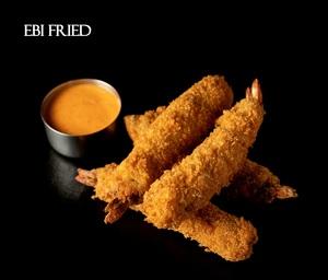 Drivu Ebi Fried (shrimp)