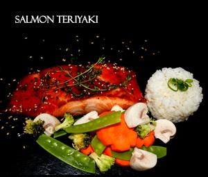 Drivu Salmon Teriyaki