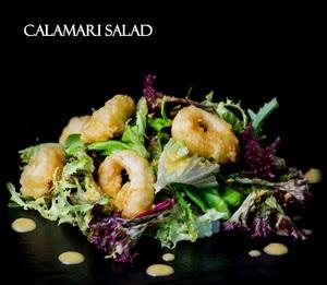 Drivu Calamari Salad
