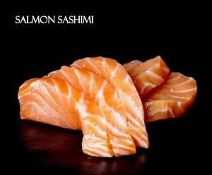Drivu Salmon Sashimi (5 pieces)