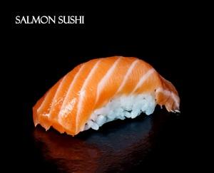 Drivu Salmon Sushi (2 pieces)