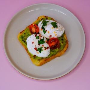 Drivu Eggs Avocado Toast
