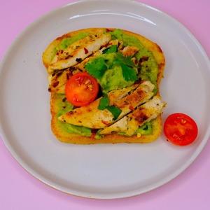 Drivu Chicken Avocado Toast