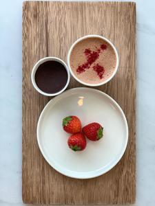 Drivu Love, Strawberry & Rose Spiced Drinking Chocolate