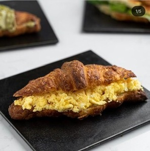 Drivu Scrambled Egg with Cheese Croissant