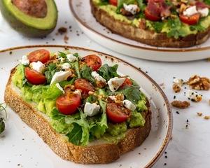 Drivu Healthy Open Sandwich