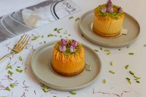 Drivu Saffron Cheesecake