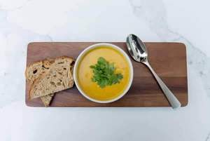 Drivu Sweet Potato & Coconut Soup