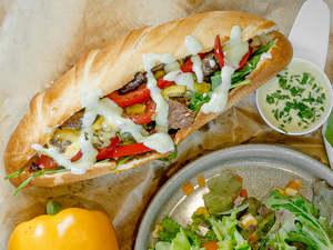 Drivu Aioli Beef Steak Sandwich