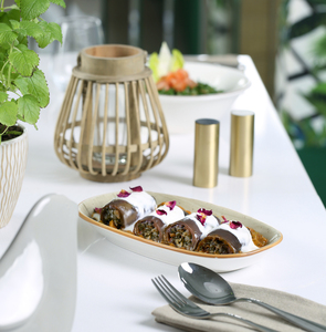 Drivu Warm Stuffed Spicy Eggplant