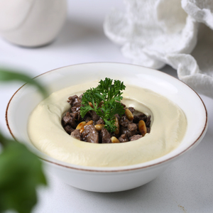 Drivu Hummus with Meat
