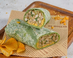 Drivu Cajun Chicken Wrap