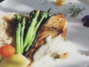 Drivu Grilled Salmon Steak
