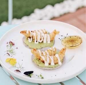 Drivu Shrimp Tempura Tacos
