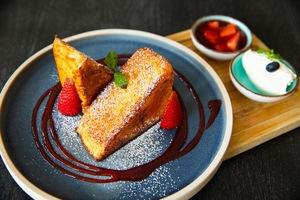 Drivu Caramel Crust French Toast
