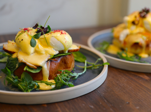 Drivu Eggs Benedict (choose your adds)
