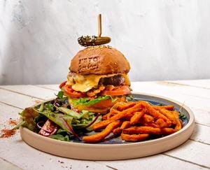 Drivu Heritage Beef Burger